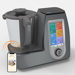 touch screen thermo cooker machine with WIFI APP control
